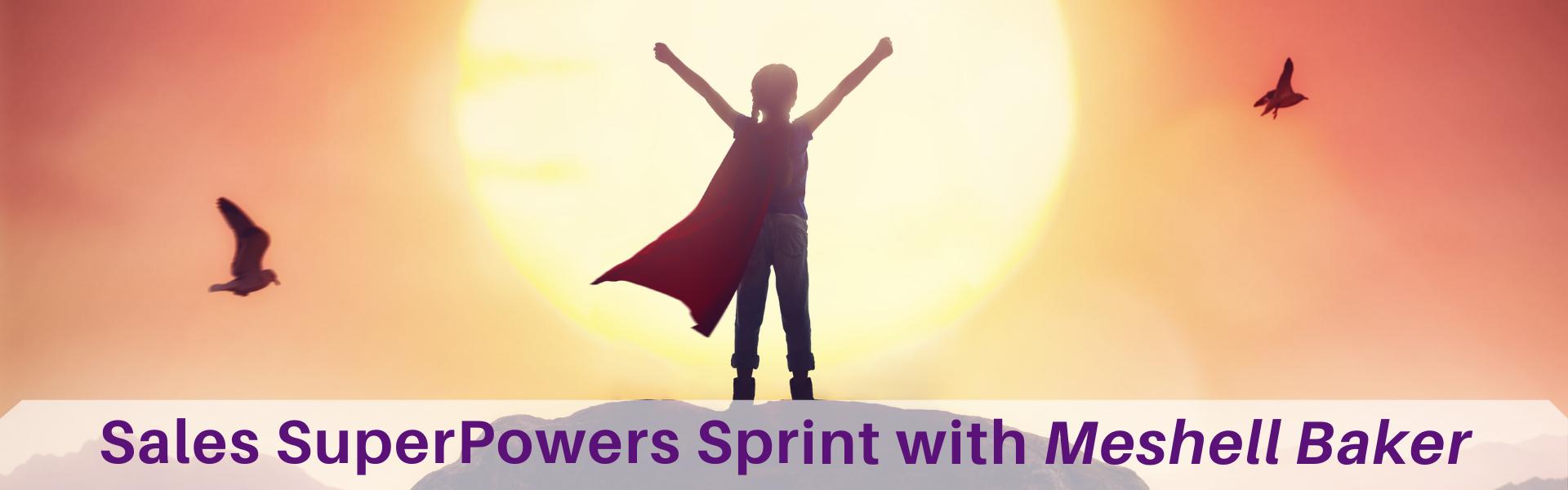 Sales SuperPowers Sprint - Header